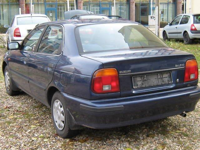 Suzuki Baleno.