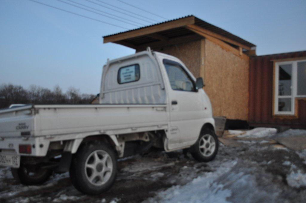 Suzuki Carry Van 2001, 0.7 литра, Добрый всем вечер, 4вд