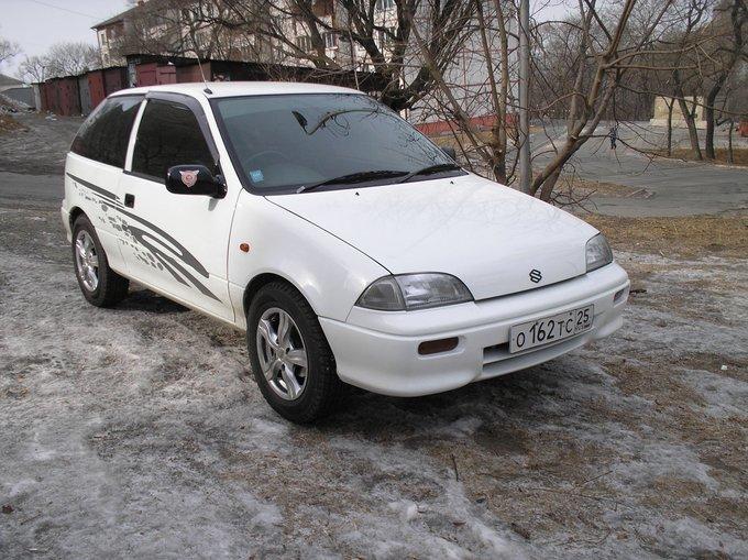 Автомобиль Suzuki Cultus: Фото…
