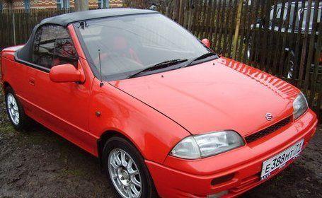Suzuki Cultus 1994 - отзыв владельца