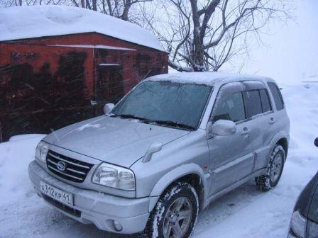 Suzuki Escudo 2002 - отзыв владельца