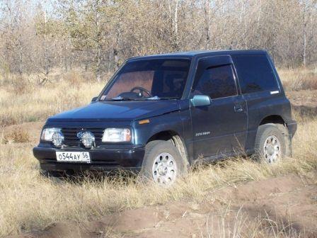 Suzuki Escudo 1990 - отзыв владельца