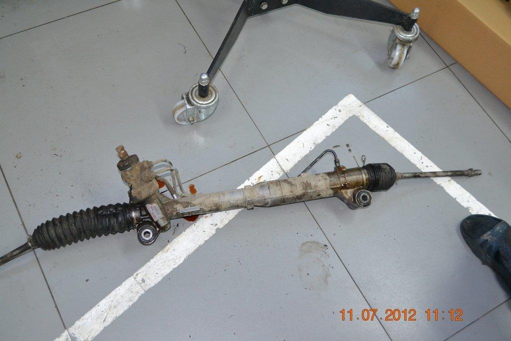 Замена сальника рулевой рейки сузуки гранд витара