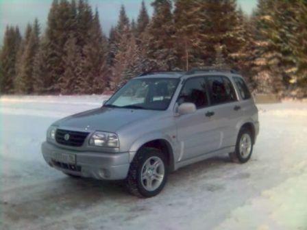 Suzuki Grand Vitara 2003 - отзыв владельца