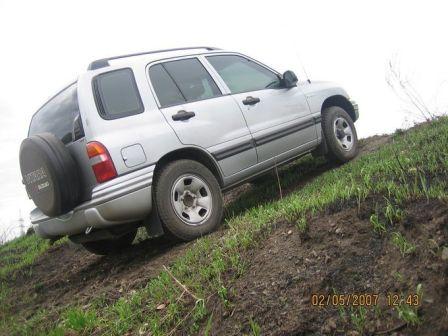 Suzuki Vitara 2002 - отзыв владельца