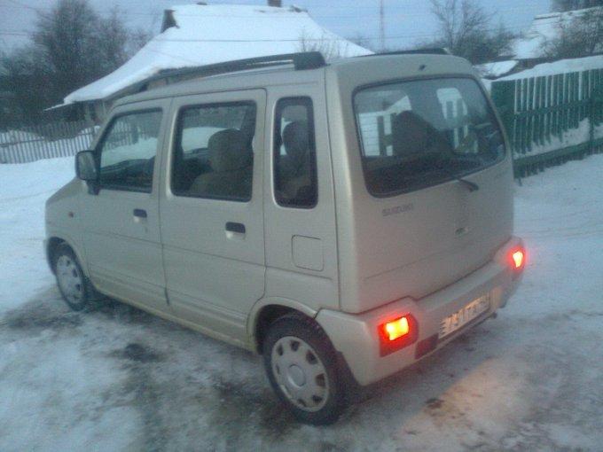 Suzuki Wagon R Plus.