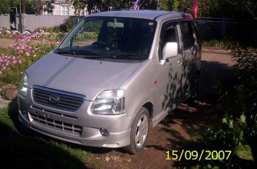 Suzuki Wagon R Solio 2001 - отзыв владельца