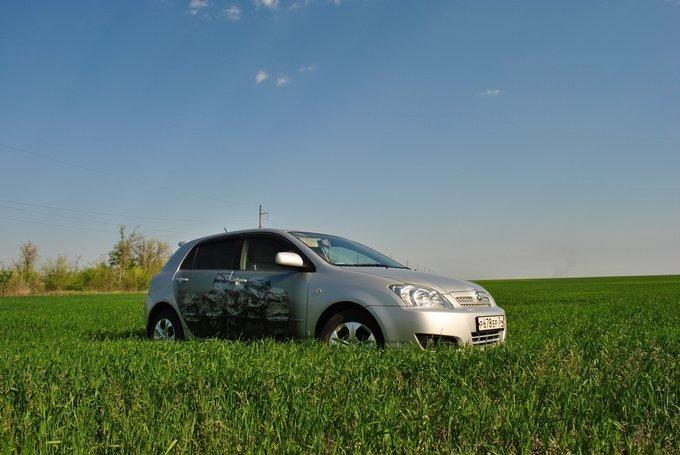 Toyota Allex.