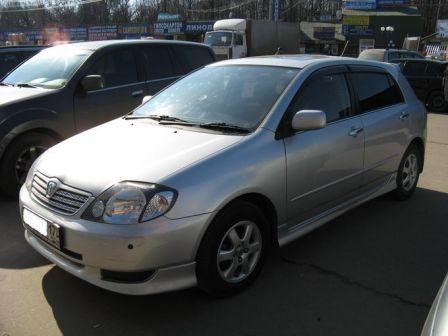 Toyota Allex 2001 - ����� ���������