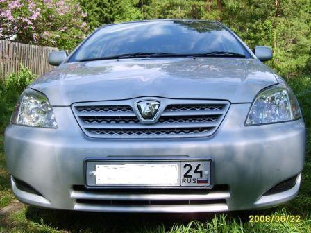 Toyota Allex 2003 - отзыв владельца