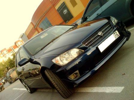 Toyota Altezza 2004 - отзыв владельца