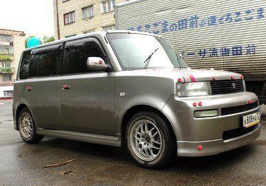 Toyota bB 2003 - отзыв владельца