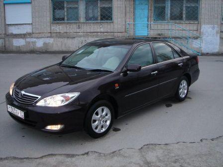 Toyota Camry 2003 - отзыв владельца
