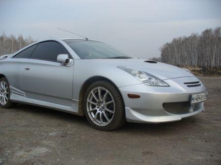 Toyota Celica 1999 - отзыв владельца