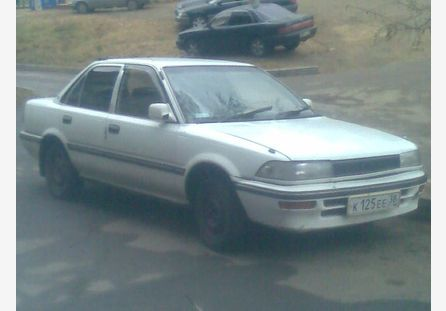 Toyota Corolla 1989 отзыв