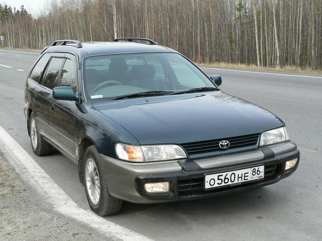 toyota corolla wagon 1997 левый руль