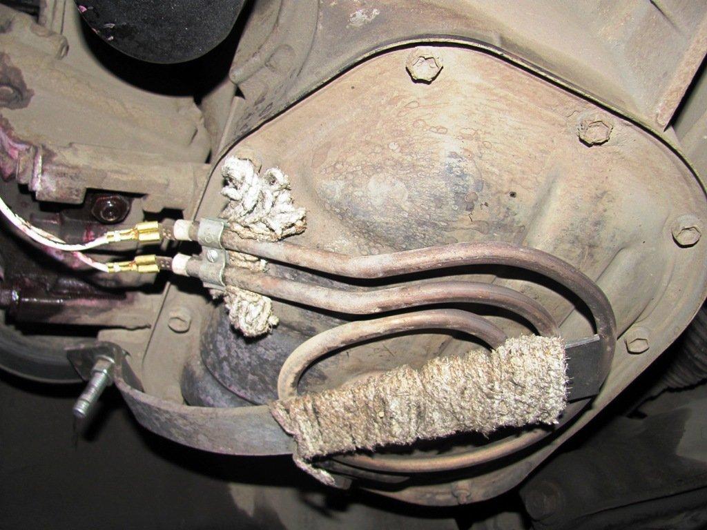 Дополнительный подогреватель масла двигателя и коробки