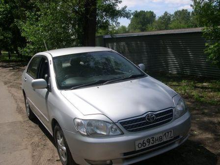 Toyota Corolla 2002 - ����� ���������