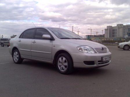 Toyota Corolla 2006 - отзыв владельца
