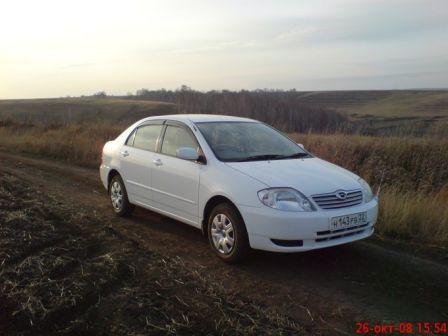 Toyota Corolla 2003 - отзыв владельца