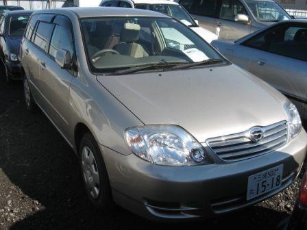 Toyota Corolla Fielder 2002 - ����� ���������
