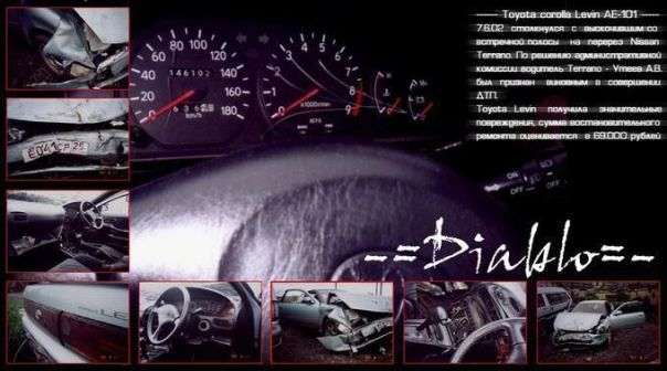 Toyota Corolla Levin 1992 - ����� ���������