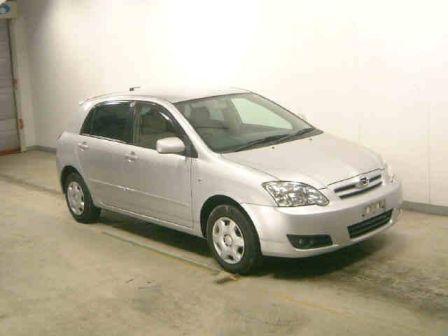 Toyota Corolla Runx 2004 - отзыв владельца