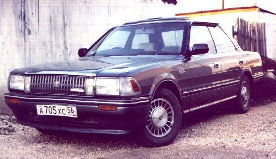 Toyota Crown 1988 - ����� ���������