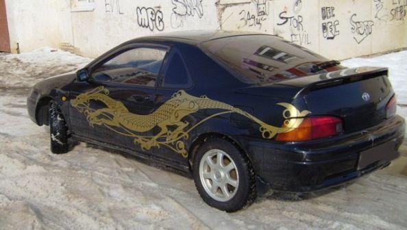 Toyota Cynos 1993 - отзыв владельца