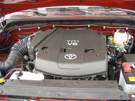 Toyota FJ Cruiser 2008 - отзыв владельца