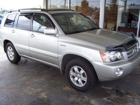 Toyota Highlander 2003 - отзыв владельца
