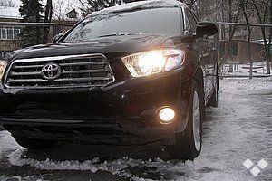 Toyota Highlander 2008 - отзыв владельца