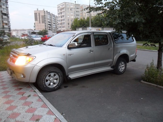 Toyota Hilux Pick Up.