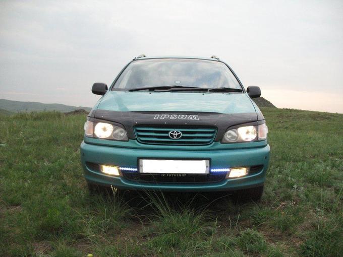 Toyota ipsum 1996 отзыв владельца