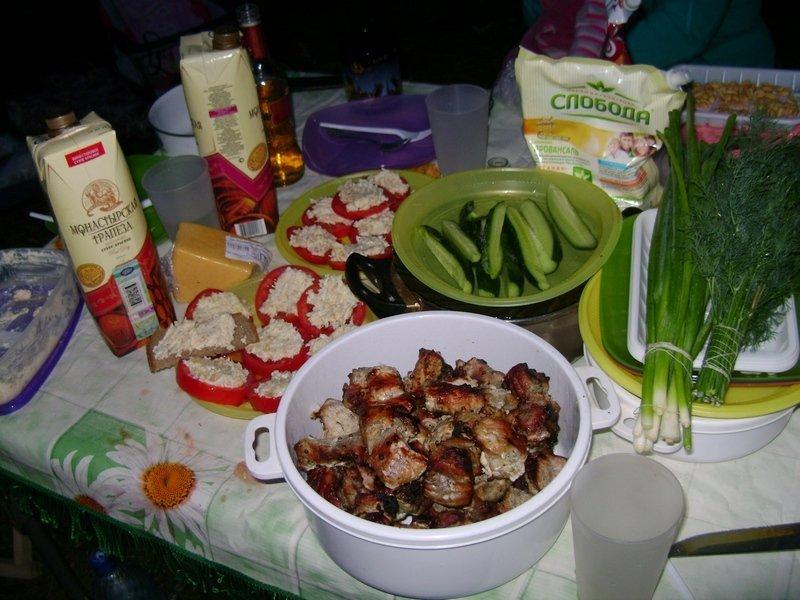 Приготовить еду на 5 дней