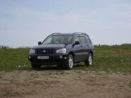 Toyota Kluger V 2000 - отзыв владельца