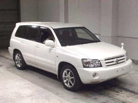 Toyota Kluger V 2003 - отзыв владельца