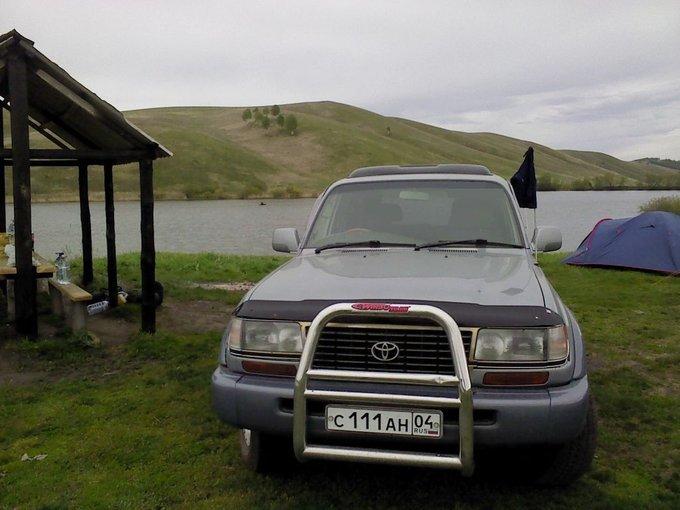 Toyota Land Cruiser.