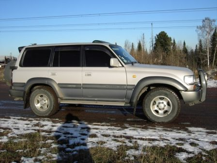 Toyota Land Cruiser 1997 - отзыв владельца