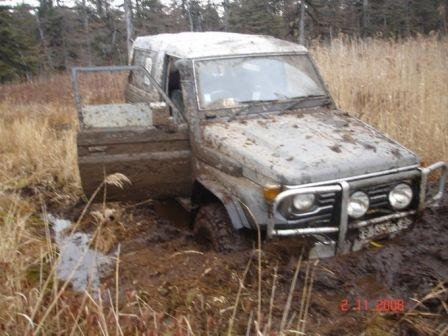 Toyota Land Cruiser 1987 - отзыв владельца