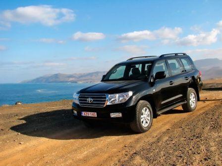 Toyota Land Cruiser 2008 - отзыв владельца