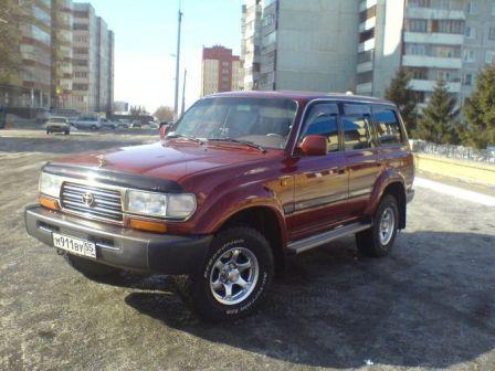 Toyota Land Cruiser 1996 - отзыв владельца