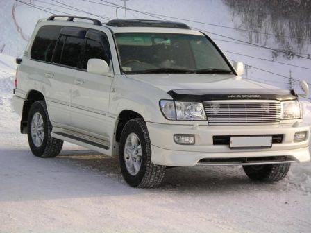 Toyota Land Cruiser 2003 - отзыв владельца