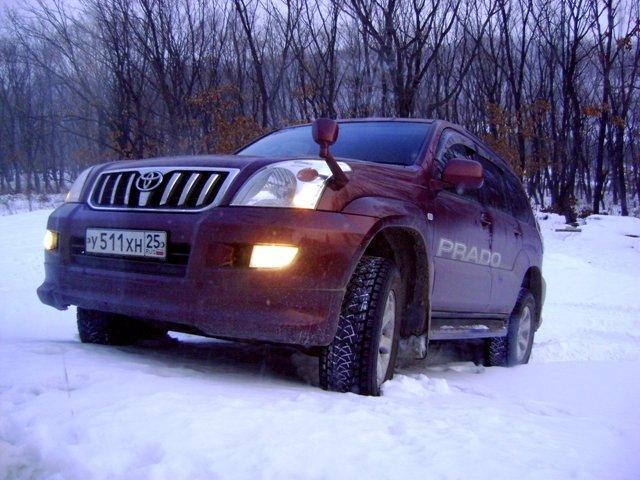 Toyota Land Cruiser Prado.