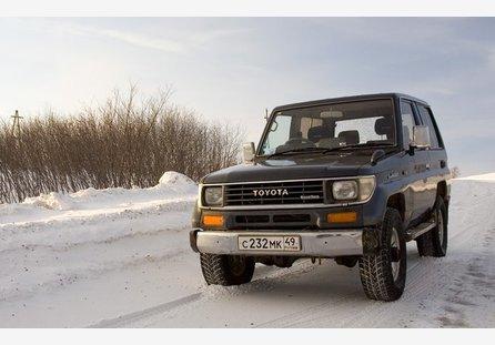 Toyota land cruiser prado 1990 отзыв владельца