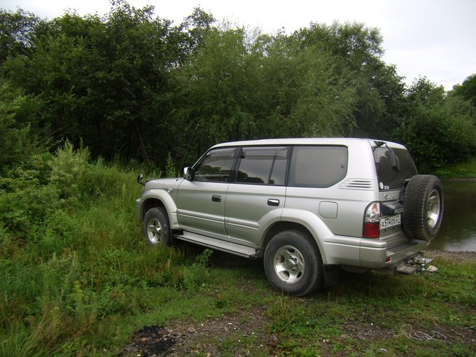 Toyota Land Cruiser Prado.