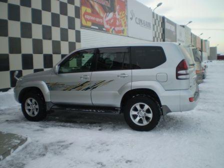 Toyota Land Cruiser Prado 2003 - отзыв владельца