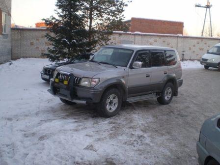 Toyota Land Cruiser Prado 1997 - отзыв владельца