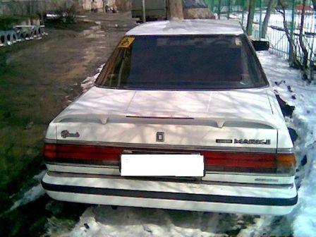 Toyota Mark II 1986 - отзыв владельца