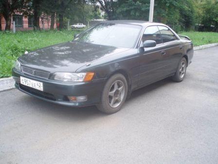 Toyota Mark II 1993 - отзыв владельца